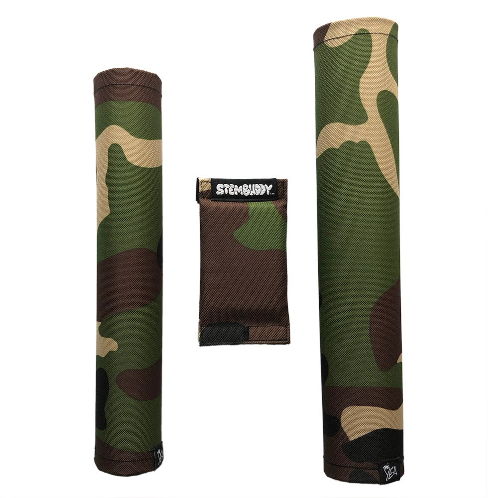 Image of Camo - BMX Pad Set