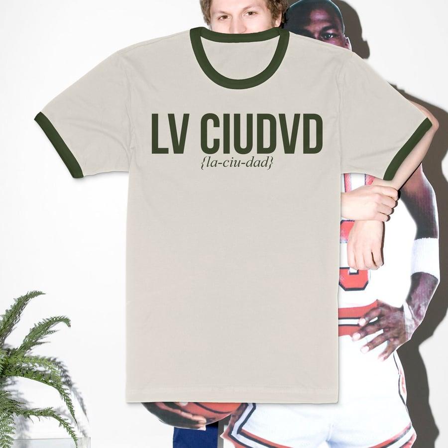Image of Lv Ciudvd Michvel Cerv T-Shirt