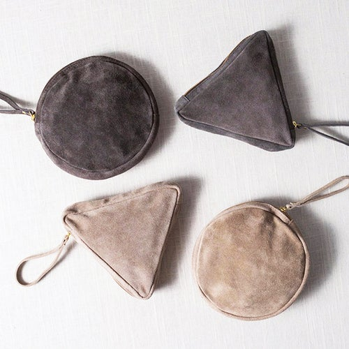 Image of SUEDE POUCH