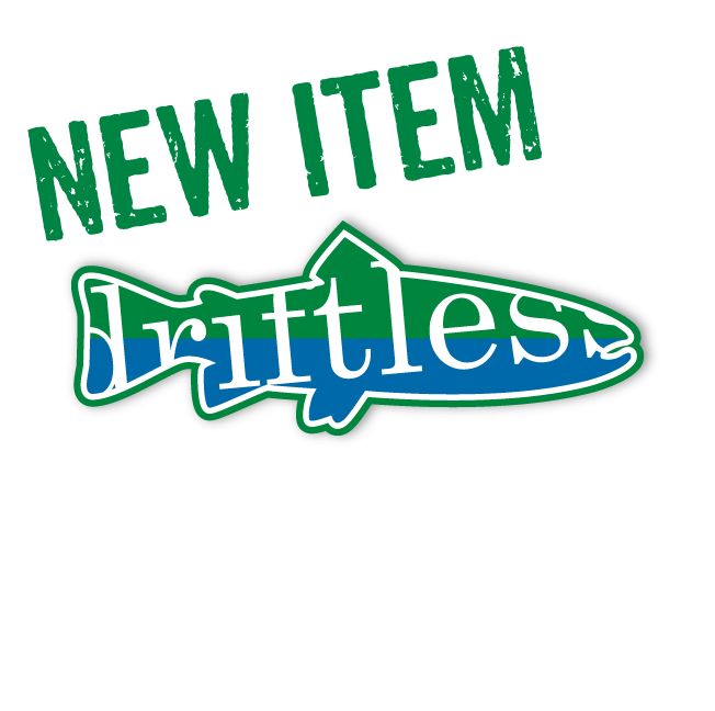 Image of driftless earth Trout sticker