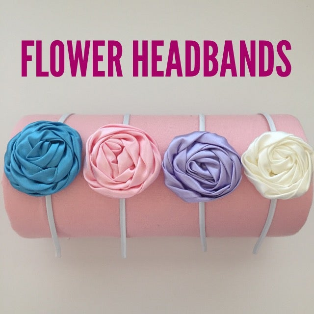 Image of Flower Headbands