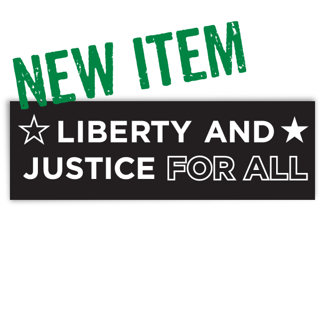 Image of Liberty and Justice for All sticker