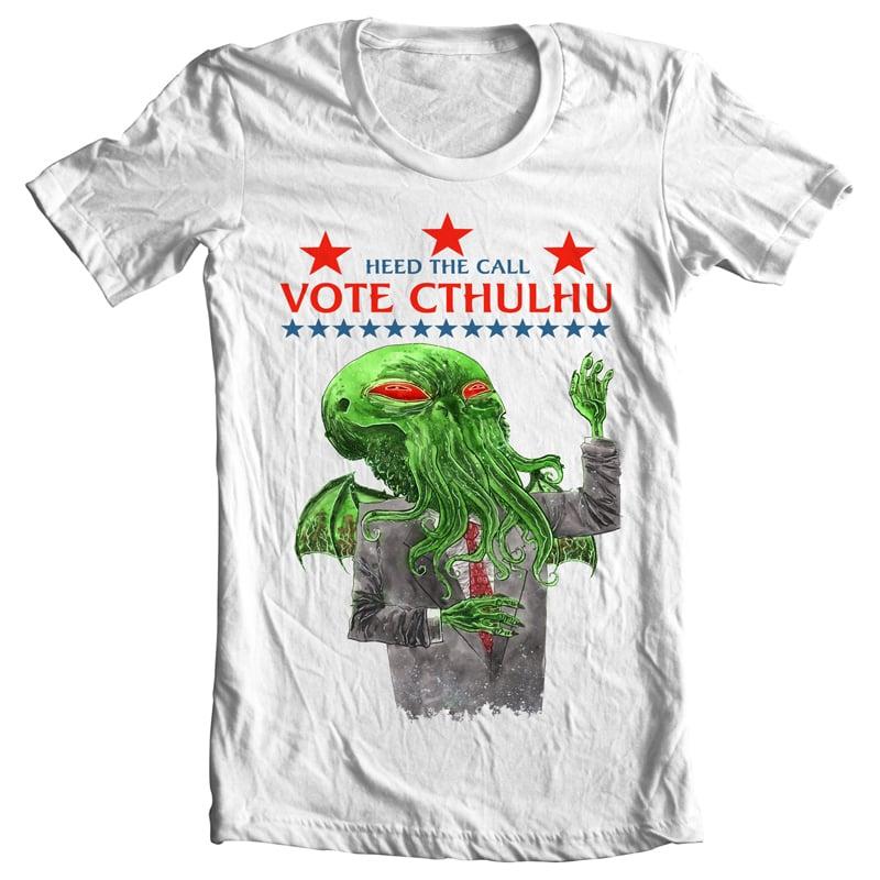 Image of Vote Cthulhu Unisex T-Shirt