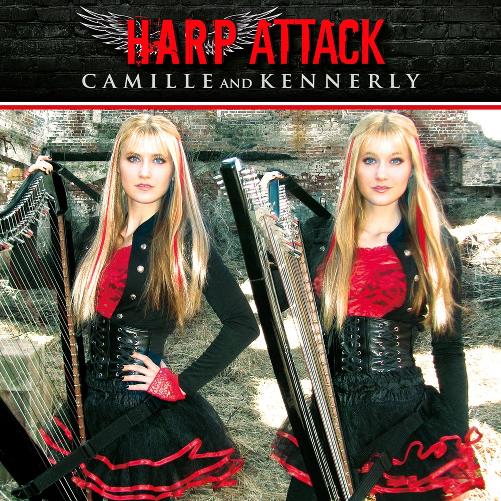 Image of Harp Attack CD (AUTOGRAPHED)