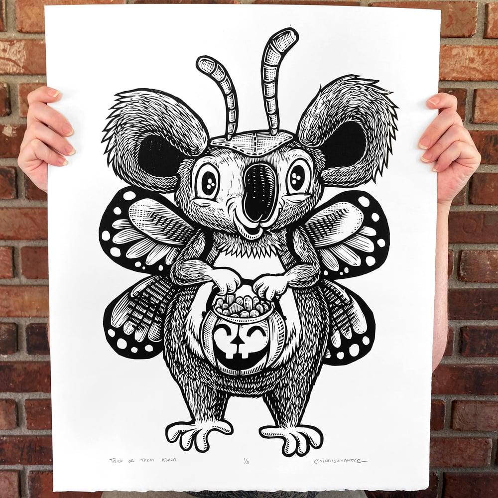 Trick or Treat Koala Print