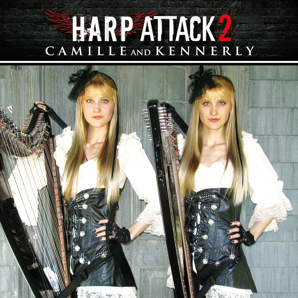 Image of Harp Attack 2 CD (AUTOGRAPHED)