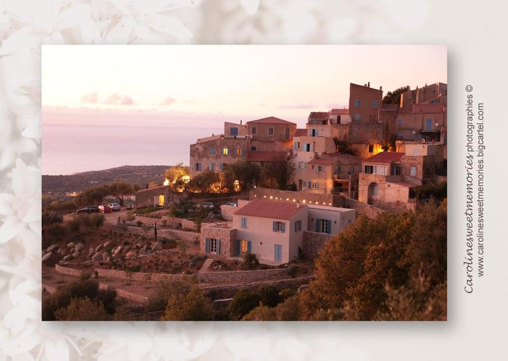Image of Pigna, Corse | TIRAGE PHOTO