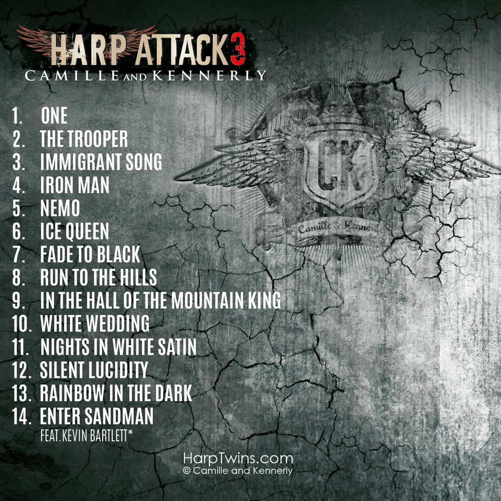 Image of Harp Attack 3 CD (AUTOGRAPHED)