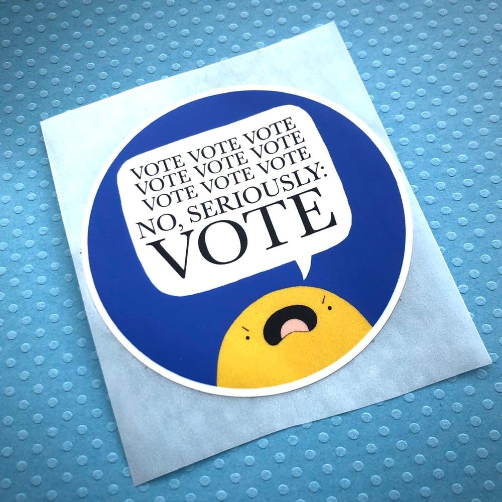 Image of VOTE VOTE VOTE sticker