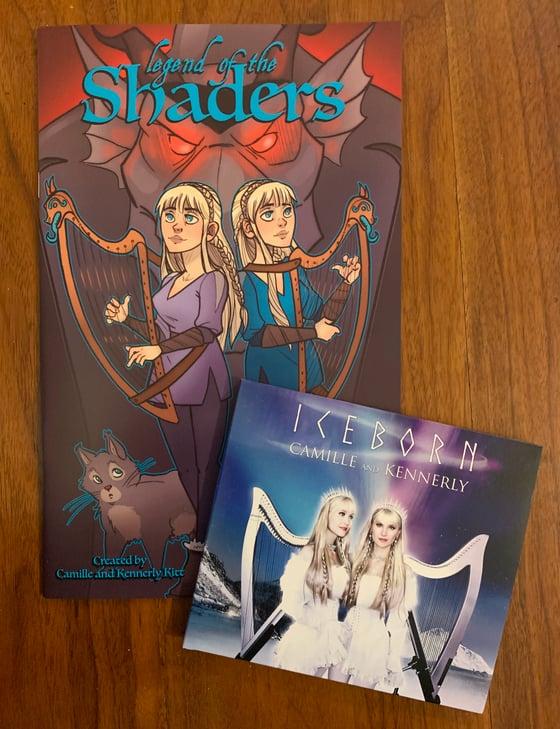 Image of Comic + CD bundle (AUTOGRAPHED)