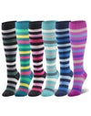24k Scrubs Stripe Compression Socks | Compression Socks | 20-30 mm Hg Compression Socks