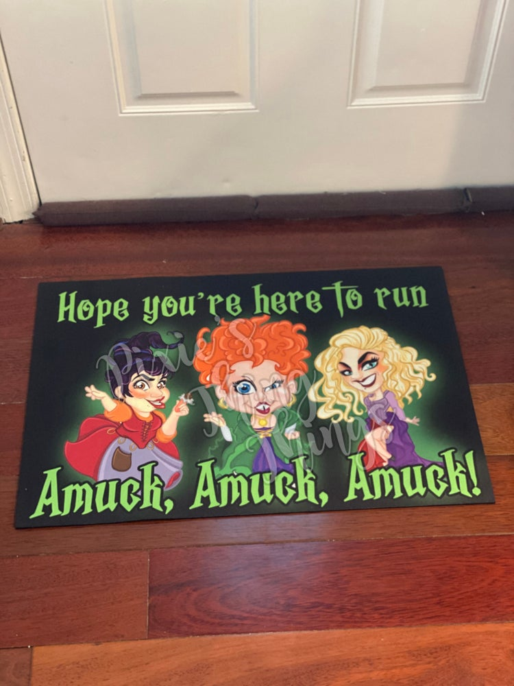 Image of Hocus Pocus inspired Door mat