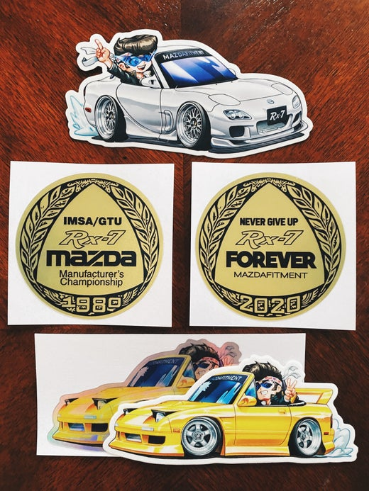 7'S DAY 2020 SPECIAL STICKERS