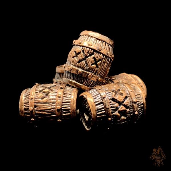 Image of HandMade Copper Barrel Bead