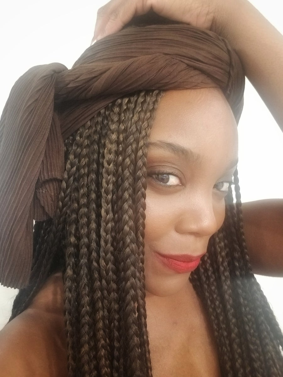 Image of CHOCOLATE RIBBED - HEADWRAP