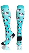 24k Scrubs Doggy Compression Socks | Dog Themed Compression Socks | 20-30 mm Hg Compression Socks