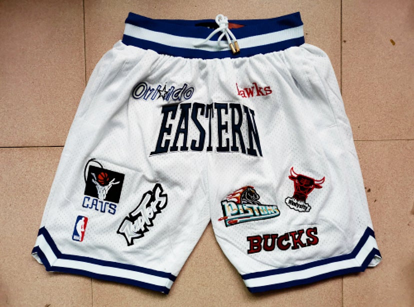 Image of Eastern conference stitched shorts