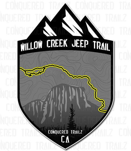 "Image of ""Willow Creek Jeep Trail"" Badge"