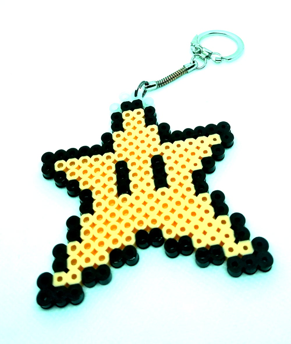 Mario Bros. Star Key Chain