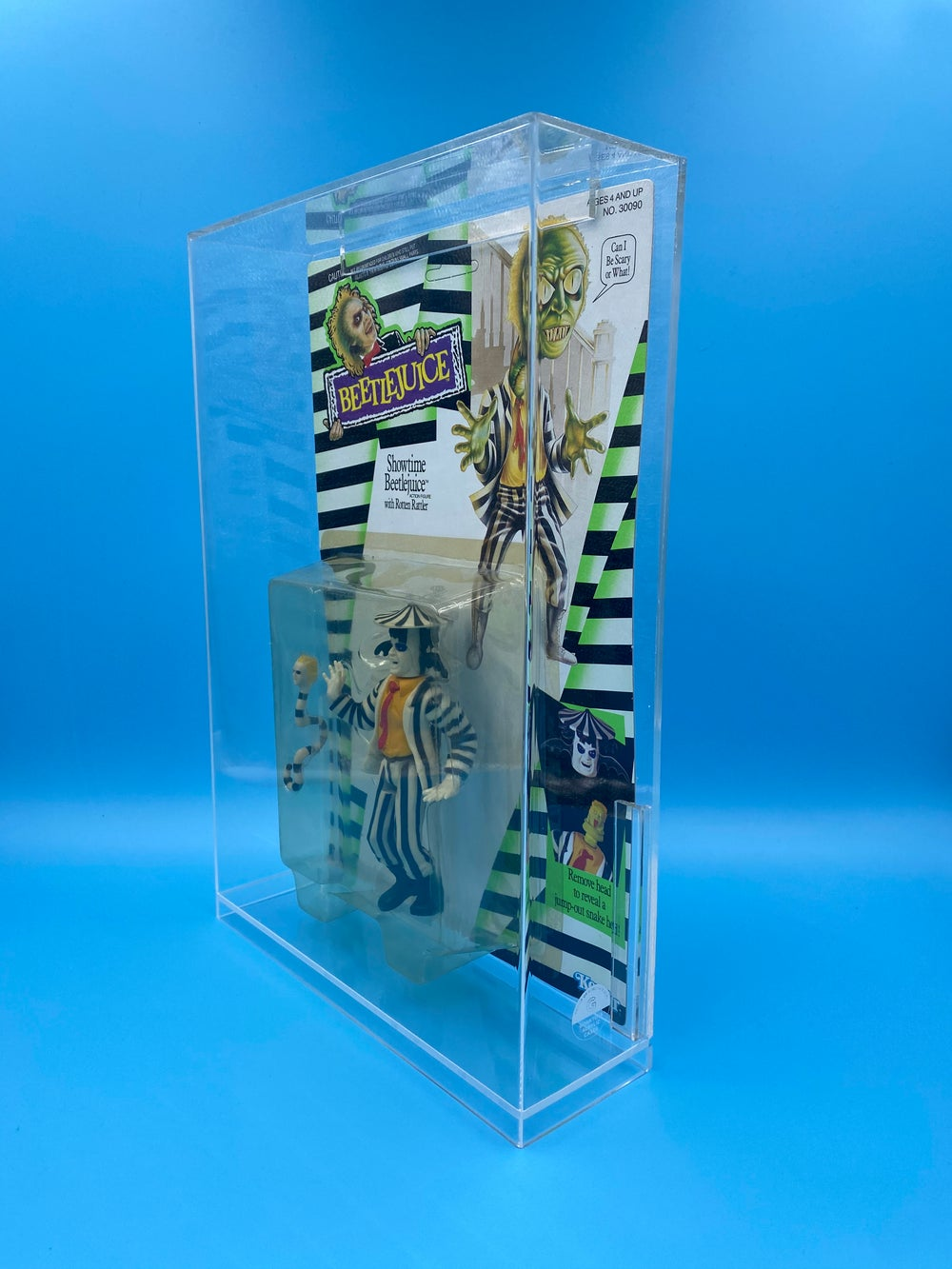 Beetlejuice Acrylic Display Case - Pre-order