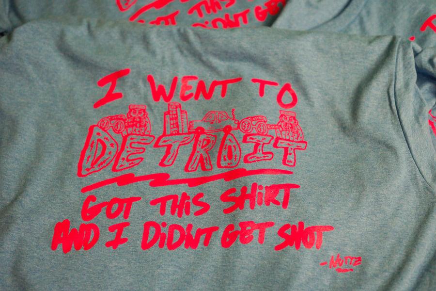 """Image of """"I WENT TO DETROIT"""" Shirt"""