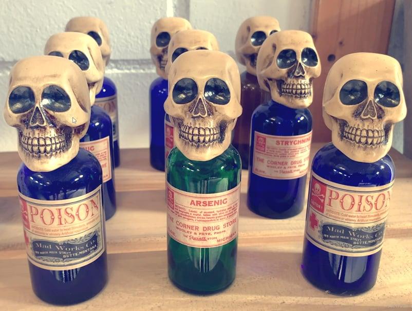 Image of Poison bottle