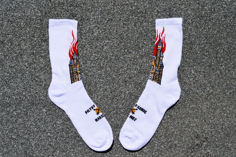 "Image of ""The Temple"" Crew Socks"
