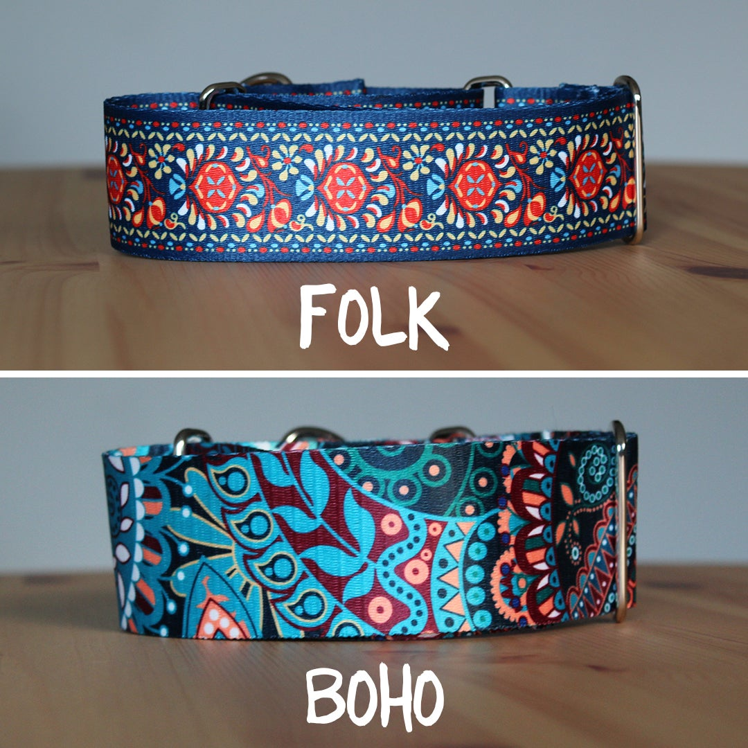 Image of 2 inch martingale dog collar