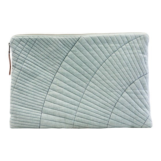 Image of Quilted lap top sleeve