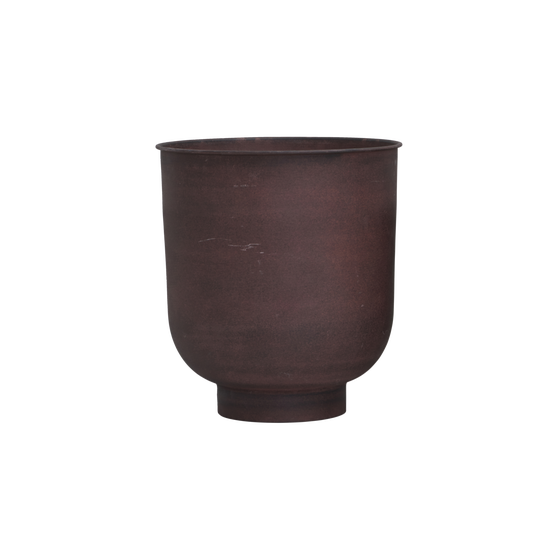 Image of Vig burnt henna planter large