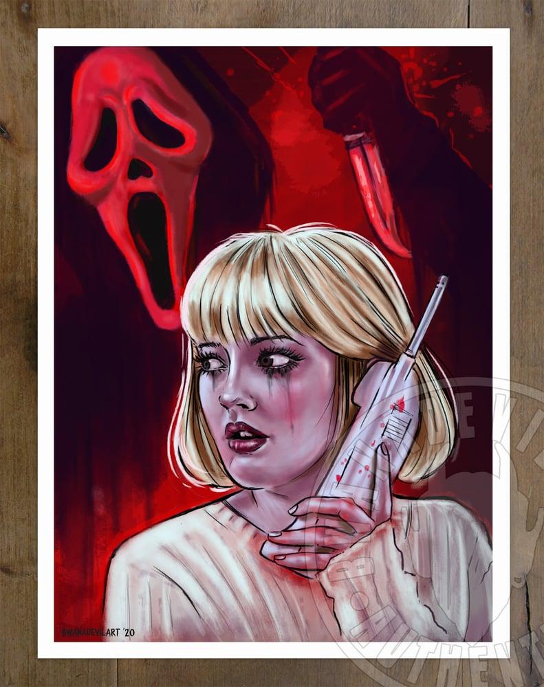 Image of Scream (Casey Becker) Art Print 9x12 in.