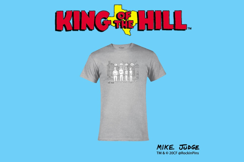 Image of King of the Hill - King of the Hill Alley T Shirt
