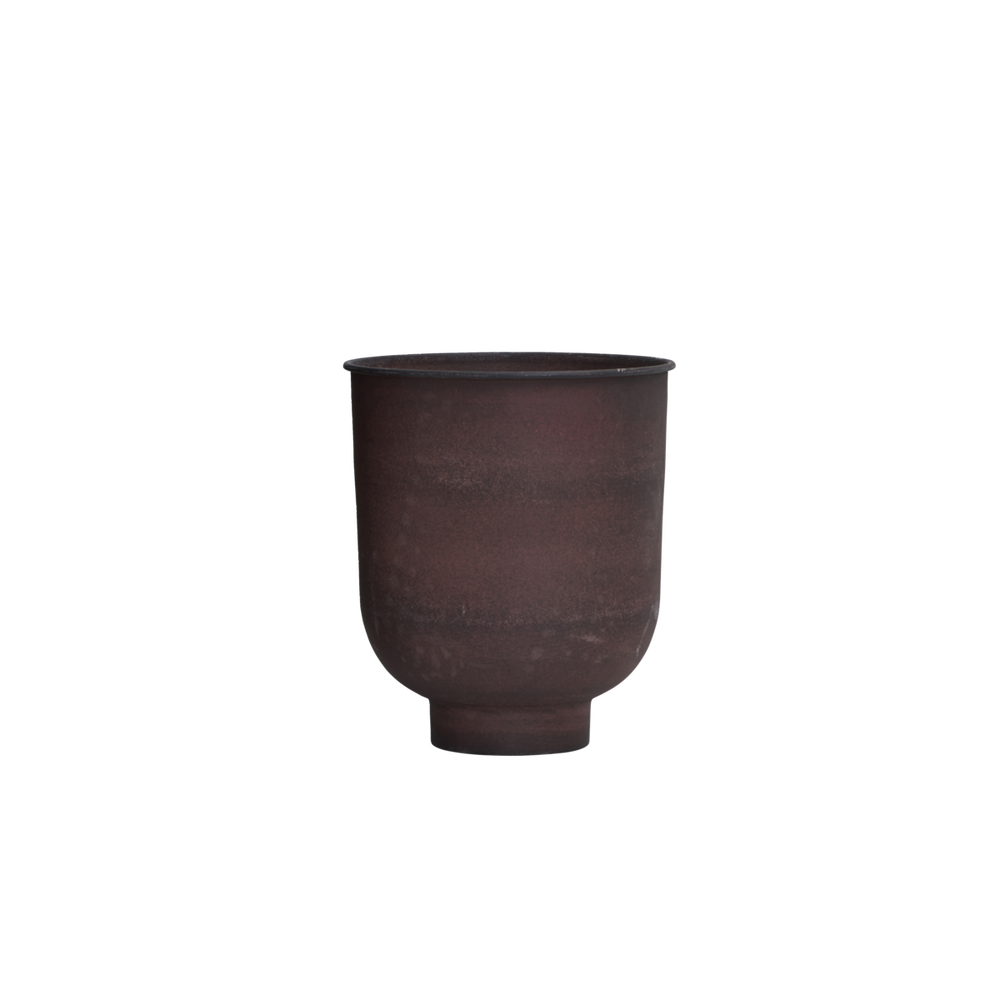Image of Vig burnt henna planter small