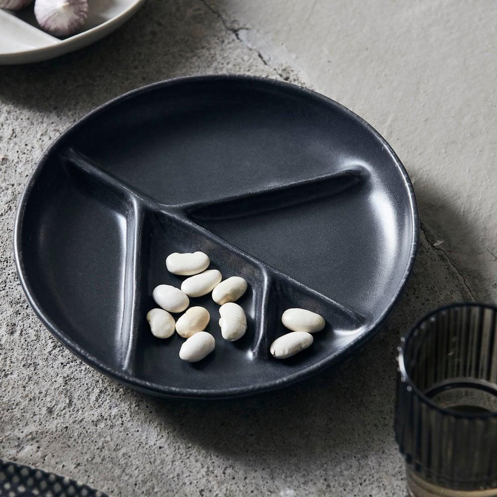 Image of Branch plate, dark grey
