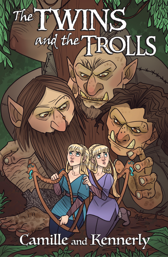 Image of The Twins and the Trolls poster
