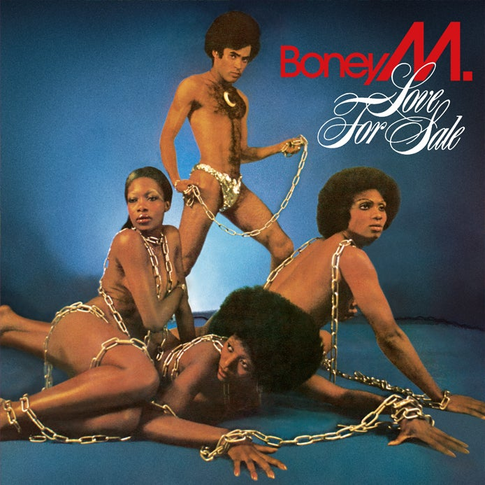 Image of COM133 // BONEY M. - LOVE FOR SALE (VINILE 33 GIRI / 12 POLLICI)
