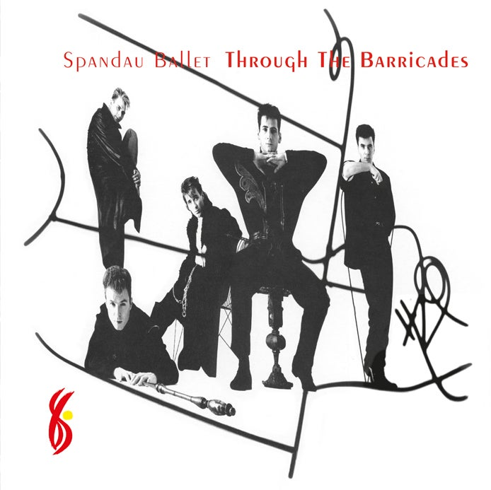 Image of COM134 // SPANDAU BALLET - THROUGH THE BARRICADES (VINILE 33 GIRI / 12 POLLICI)