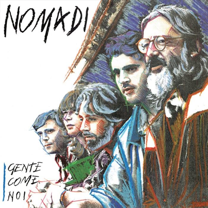 Image of COM141 // NOMADI - GENTE COME NOI (VINILE 33 GIRI / 12 POLLICI)