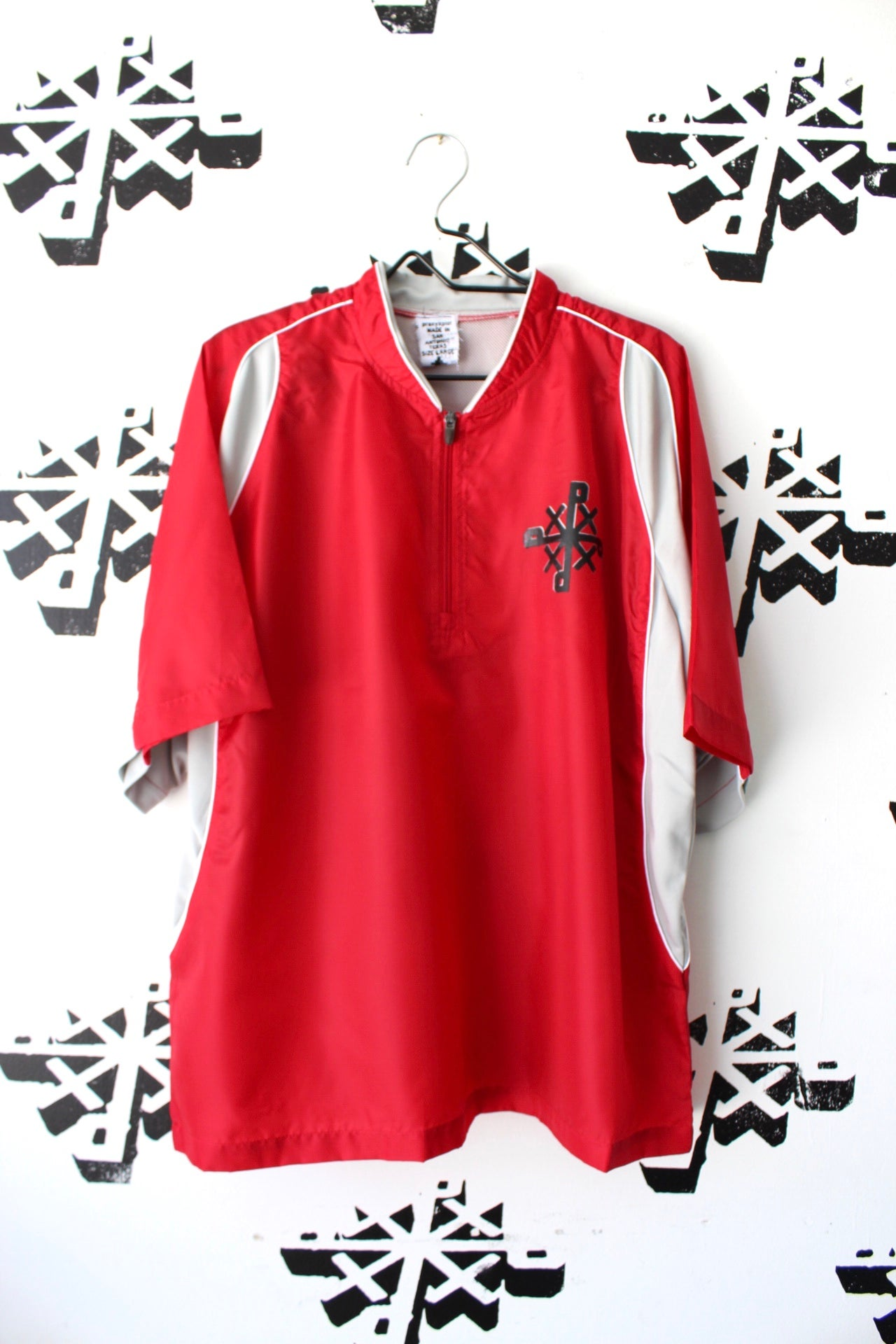 Image of ORGANIZE top in red