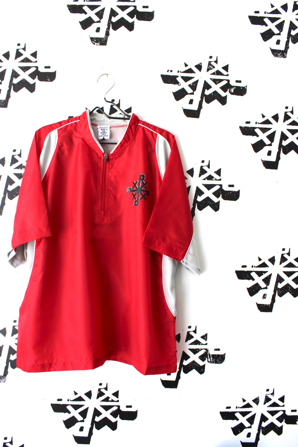 ORGANIZE top in red