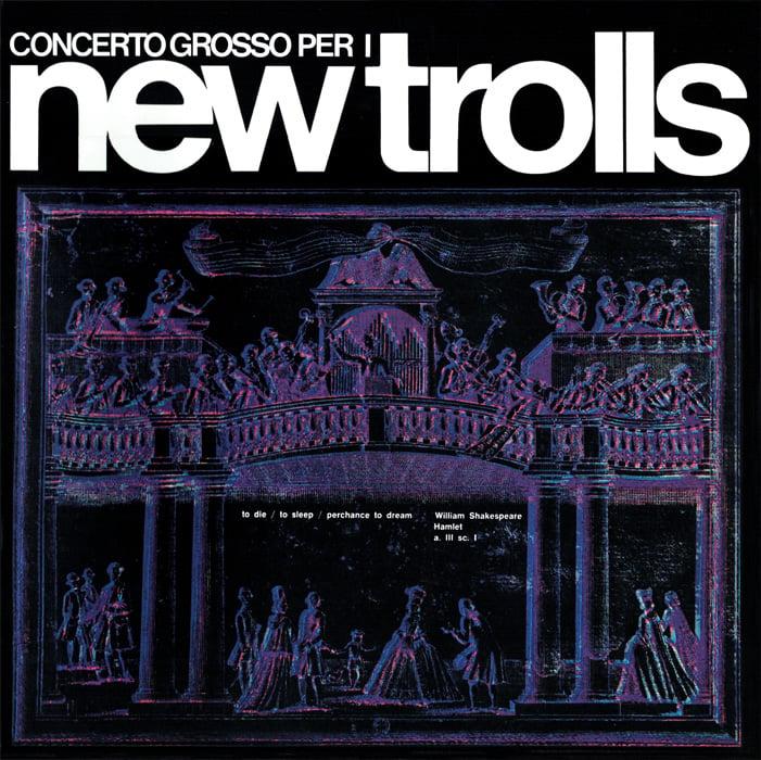 Image of COM149 // NEW TROLLS - CONCERTO GROSSO (VINILE 33 GIRI / 12 POLLICI)