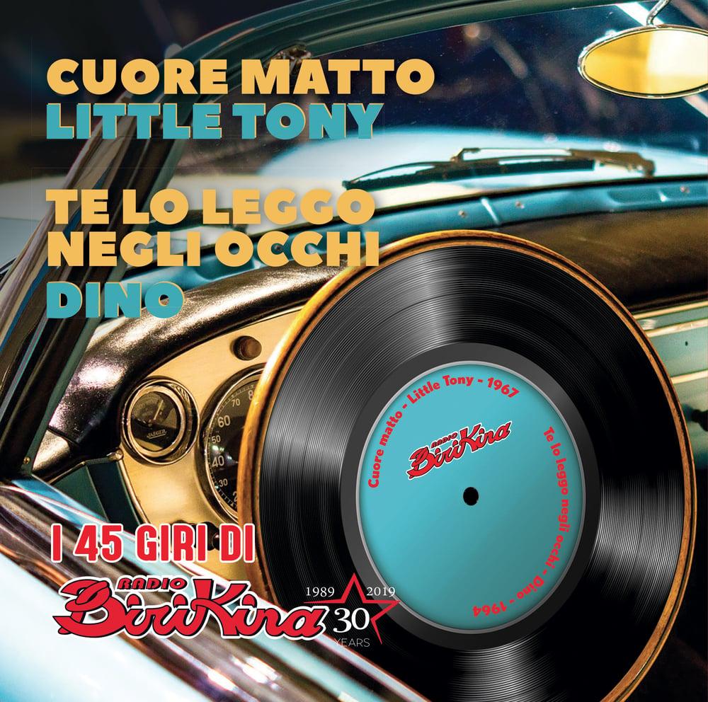 Image of COM122 // LITTLE TONY Cuore Matto - DINO Te Lo Leggo Negli Occhi (VINILE 45 GIRI / 7 POLLICI)