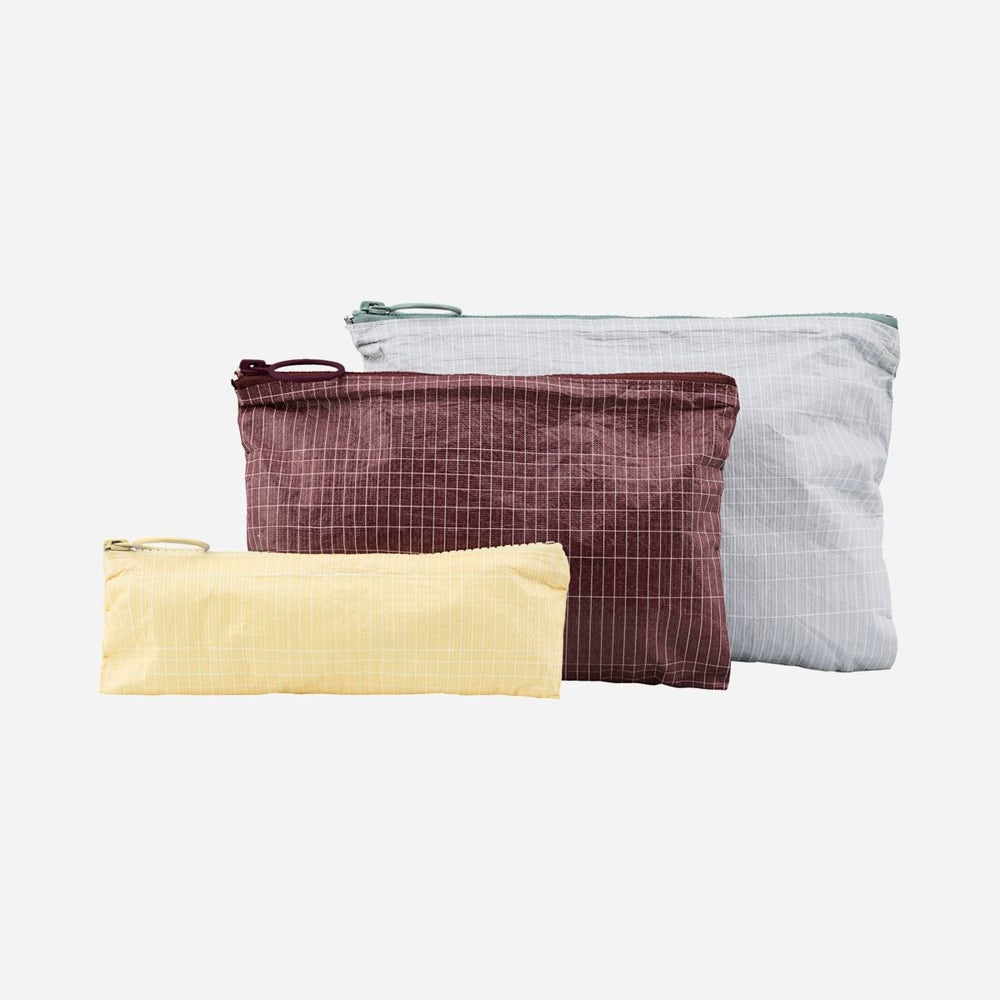 Image of Monograph set of 3 zip bags