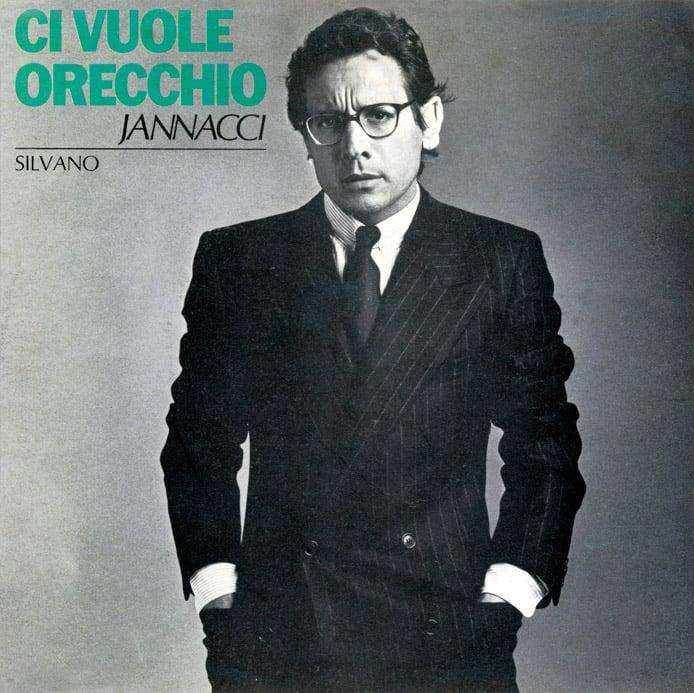 Image of COM135 // ENZO JANNACCI  - Ci Vuole orecchio / Silvano (VINILE 45 GIRI / 7 POLLICI)