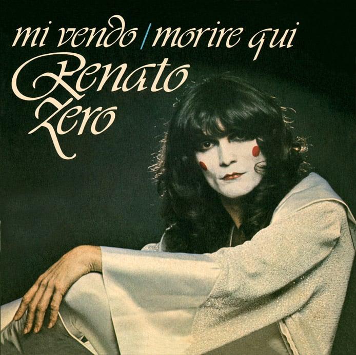 Image of COM137 // RENATO ZERO - Mi Vendo / Morire Qui (VINILE 45 GIRI / 7 POLLICI)