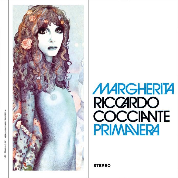 Image of COM138 // RICCARDO COCCIANTE  - Margherita / Primavera (VINILE 45 GIRI / 7 POLLICI)