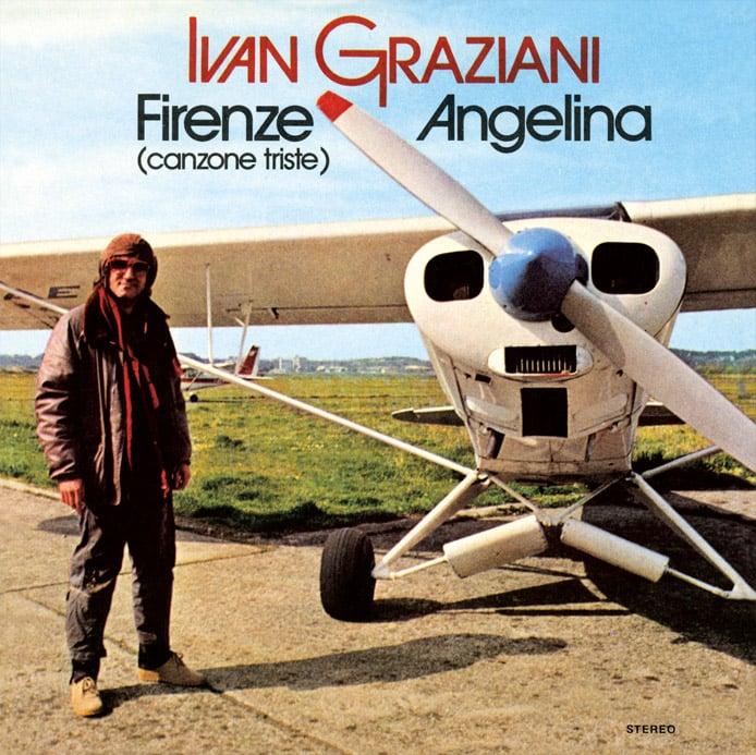 Image of COM147 // IVAN GRAZIANI - Firenze / Angelina (VINILE 45 GIRI / 7 POLLICI)