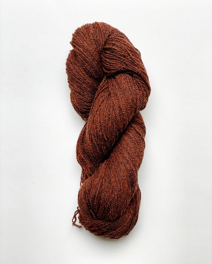 Image of NEW! Lambswool - Dark Rust (48)