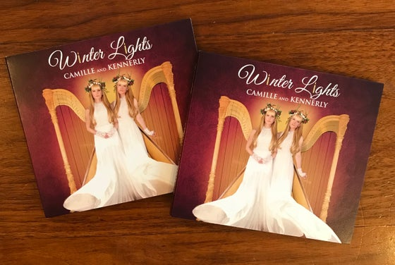 Image of Double Winter Lights autographed CD bundle!