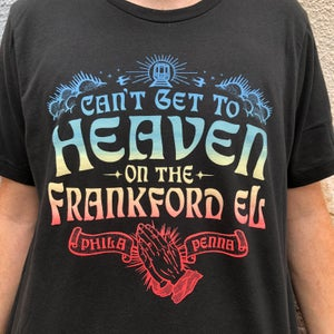 Image of Frankford El - black tshirt